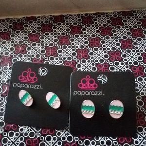 Paparazzi Girl Easter Egg Earrings